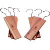 Cedar hanging blocks   Natural moth prevention